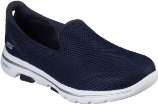 Skechers Womens 15901 NVW Navy White Go Walk 5 Trainers